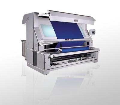 Машина для разбраковки ткани с отделкой
