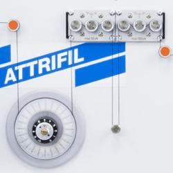 Attrifil II Yarn friction 233B-2